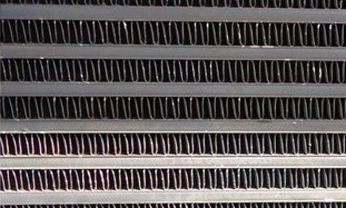 Baumaschine Wärmetauscher Reinigung 3