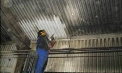 Brandschadensanierung Industrieanlage