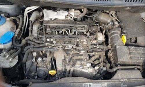Motorraumreinigung Trockeneis 1