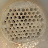 Reinigung von Abgaswärmetauscher und Tischkühler an einem BHKW im TubeMaster Verfahren