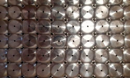 Sandstrahlen Aluminiumteile strahlen 1