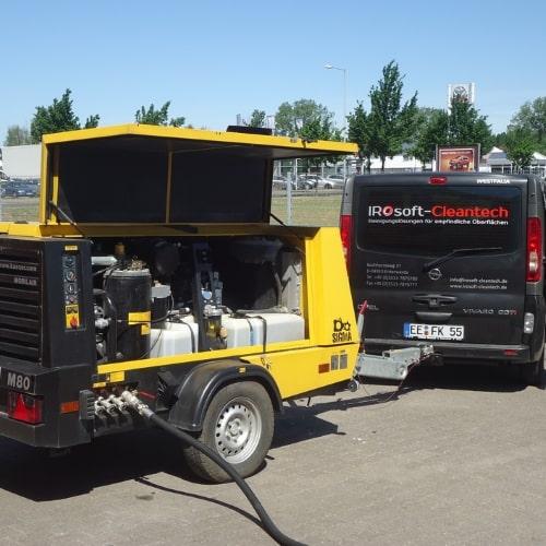 Wärmetauscher Reinigung mobil 1